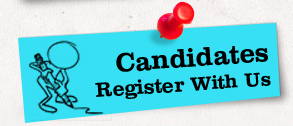 Candidates Register With Us